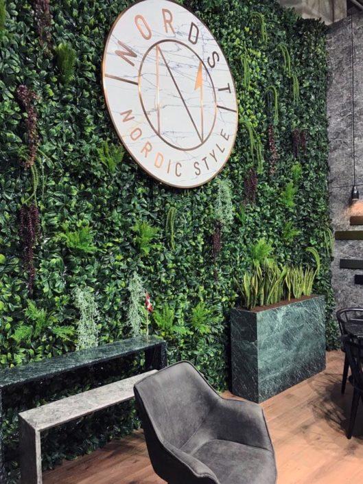 Green wall - Kunstpflanzen - vertical garden - Kunstblumen