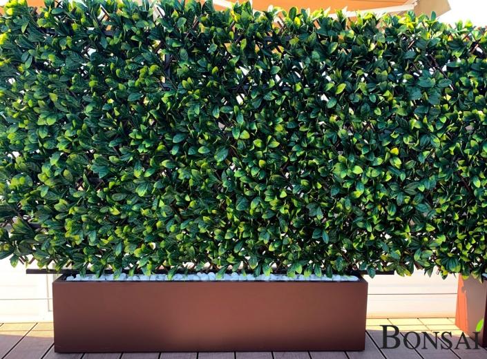 Kunsthecke Kunstpflanzen mit UV schutz