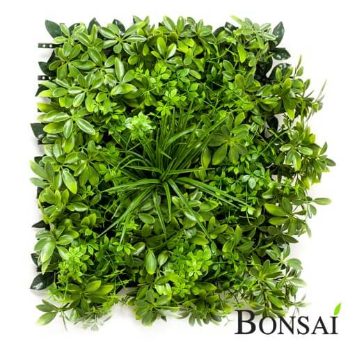 Wetterfeste Kunsthecke green wall paneel by BONSAI
