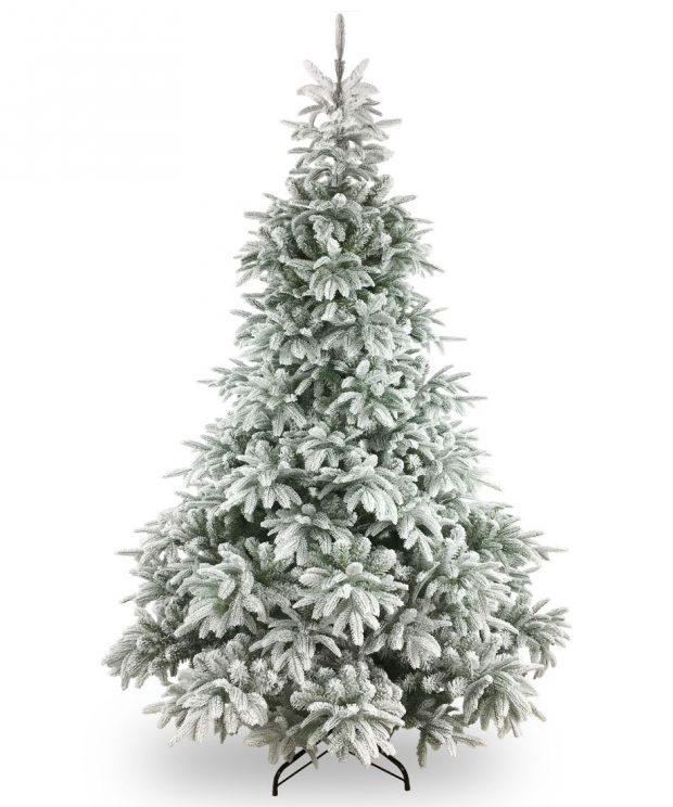 Künstlicher Weihnachtsbaum Finland beflockt 150 cm