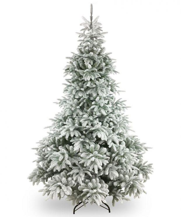Künstlicher Weihnachtsbaum Finland beflockt 183 cm